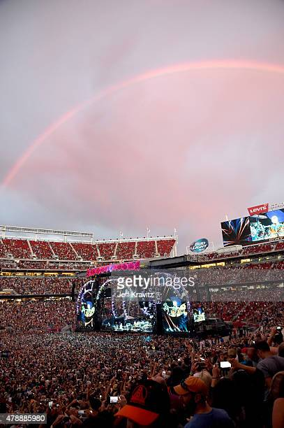 Grateful Dead performs on Fare Thee Well Celebrating 50 Years Of Grateful Dead at Levi Stadium on June 27 2015 in Santa Clara California