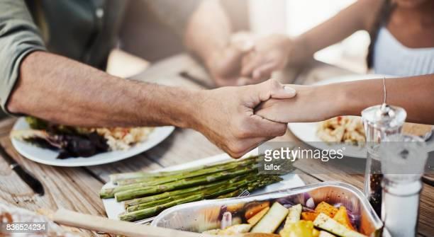 Dankbar für diese Nahrung und für unsere Familie