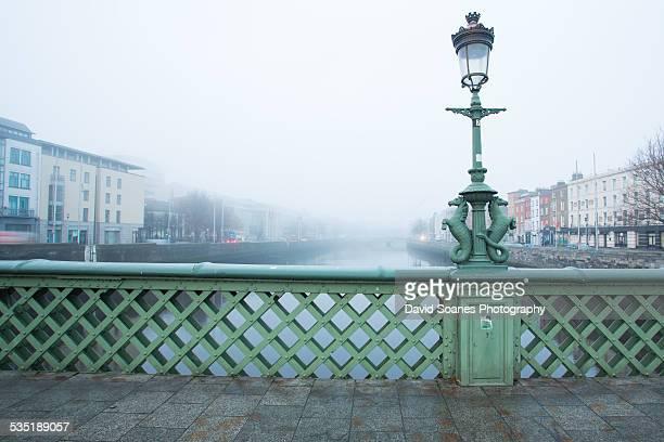 Grattan Bridge in fog
