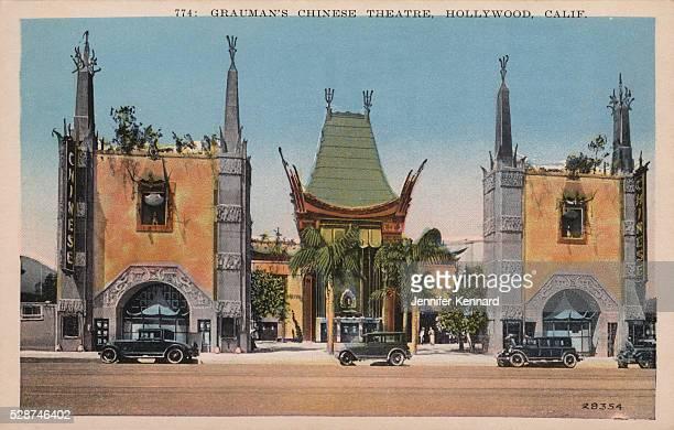 Grauman's Chinese Theatre Postcard