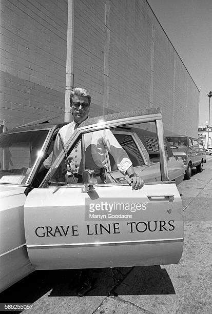 Grave Line Tours of Los Angeles United States 1990 The tour takes customers to see the homes of dead celebrities