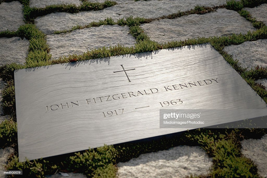 Grave site of John F. Kennedy, Arlington National Cemetery, Virginia, USA : Stockfoto