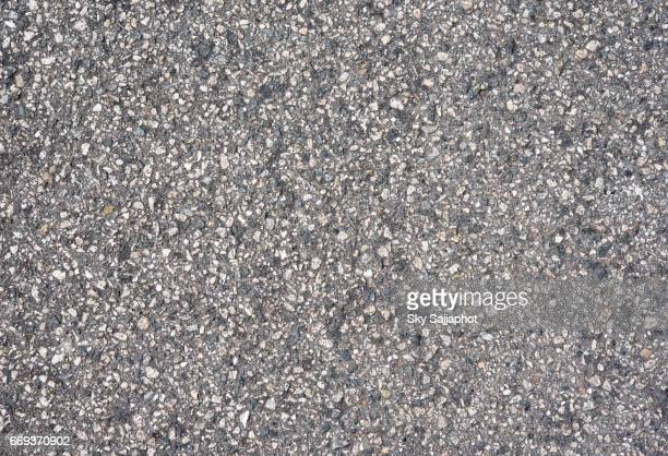 Gravel texture background closeup