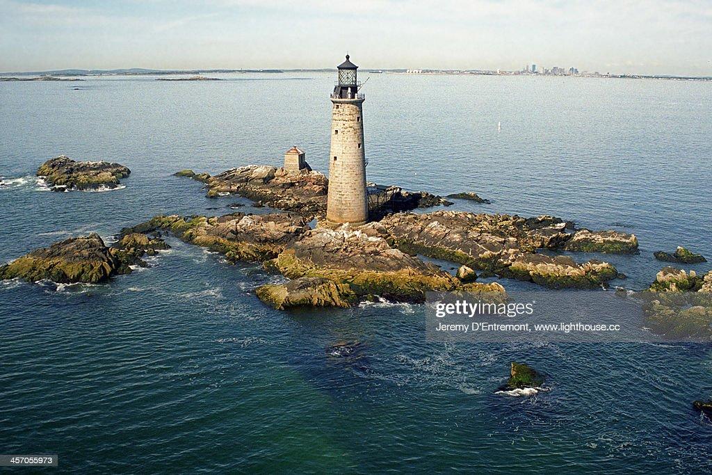 Graves Lighthouse, Boston Harbor, Massachusetts