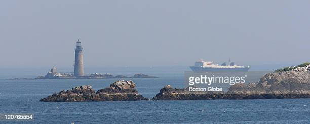 Graves lighthouse seen from Little Brewster island A narrated tour on a comfortable vessel through the Boston Harbor Islands where you will...