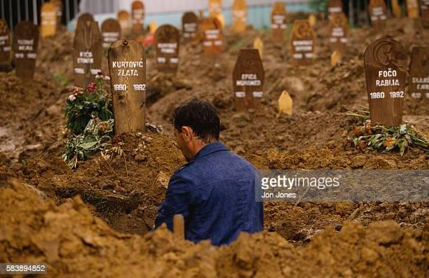Graveyard in Sarajevo