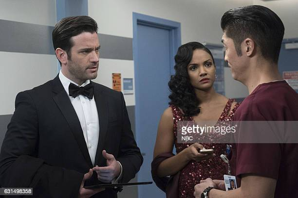 MED 'Graveyard Shift' Episode 211 Pictured Colin Donnell as Connor Rhodes Mekia Cox as Robyn Charles Brian Tee as Ethan Choi
