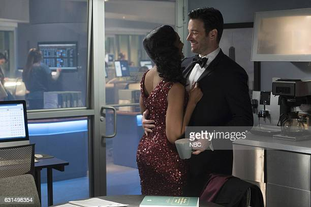 MED 'Graveyard Shift' Episode 211 Pictured Mekia Cox as Robyn Charles Colin Donnell as Connor Rhodes