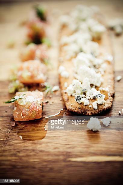Gravlax And Goat Cheese