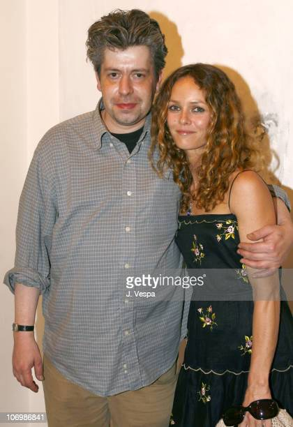 Gravleur and Vanessa Paradis during Johnny Depp and Trigg Ison Host the Premiere American Exhibition of Gravleur On Exhibit June 220 2006 at Trigg...