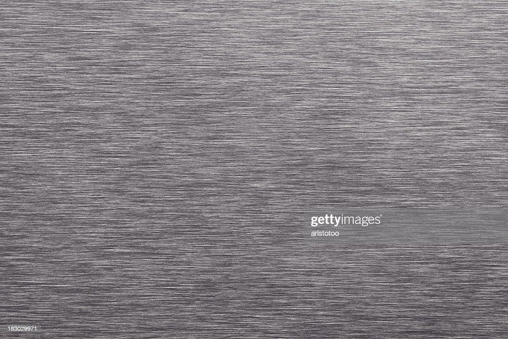 Brushed Aluminium Sheet : Gray brushed sheet metal background stock photo getty images