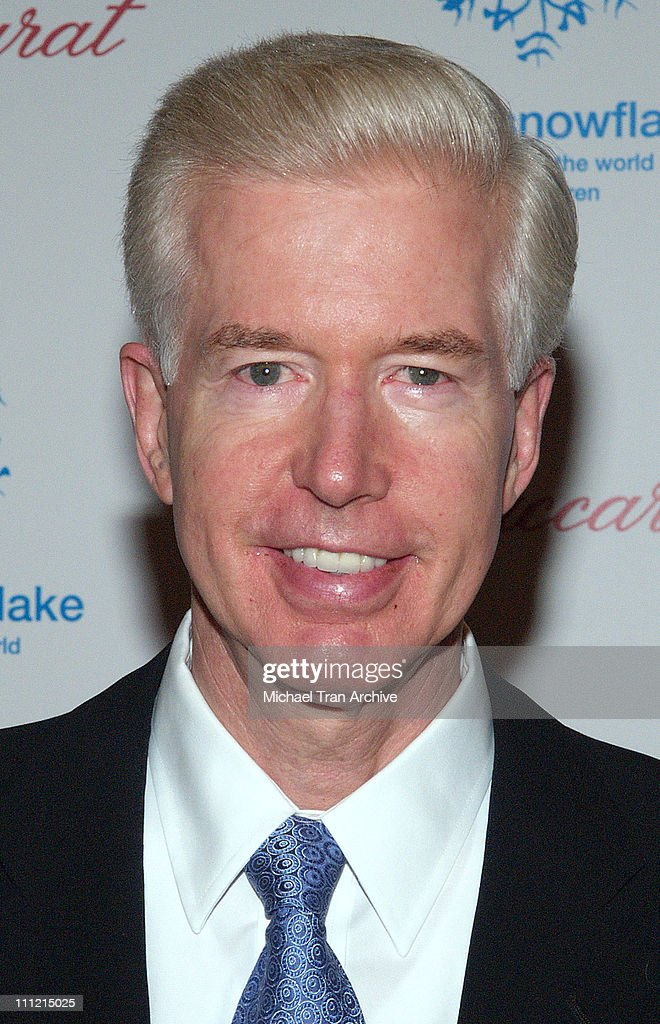 <a gi-track='captionPersonalityLinkClicked' href=/galleries/search?phrase=Gray+Davis&family=editorial&specificpeople=200688 ng-click='$event.stopPropagation()'>Gray Davis</a> during Baccarat Presents the Lighting of the UNICEF Crystal Snowflake and Chandelier Display on Rodeo Drive Followed by the First Annual UNICEF Snowflake Ball at The Regent Beverly Wilshire in Beverly Hills, California, United States.