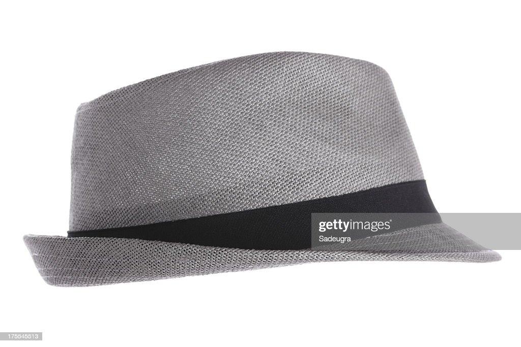 Chapeau en feutre gris : Photo