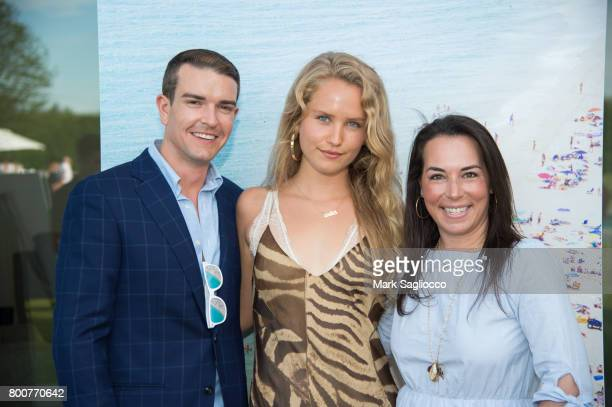 Gray Malin Sailor Brinkley Cook and EditorinChief Samantha Yanks attend Hamptons Magazine and Matthew Breitenbach Celebration with Artist Gray Malin...