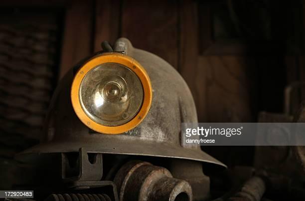 Gray Mine Helmet