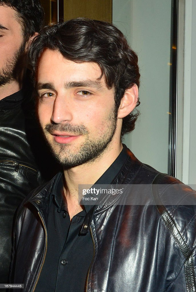 Gray Orsatelli attends the Sam Bobino DJ Set Party At The Hotel O on April 25, 2013 in Paris, France.