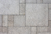 Gray square bricks - geometric background