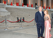 Graydon Carter and Anna Scott during 4th Annual Tribeca Film Festival Vanity Fair Party at New York Supreme Court in New York City New York United...