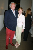 Graydon Carter and Anna Scott during Calvin Klein Inc and Bryan Adams Host the Launch of His New Photography Book 'American Women' Inside the Party...