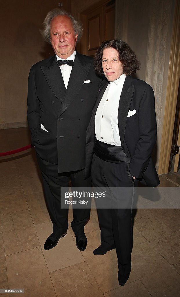 Graydon Carter and Fran Lebowitz attend the 2010 Living Landmarks Celebration at The Plaza Hotel on November 3, 2010 in New York City.