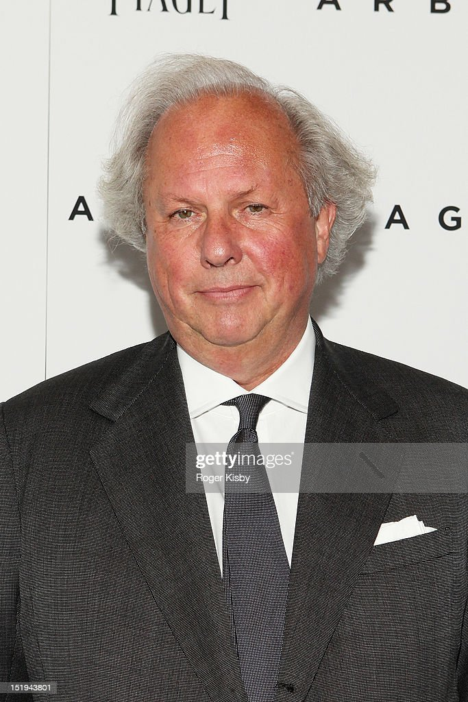 Graydon Carter attends the 'Arbitrage' New York Premiere at Walter Reade Theater on September 12, 2012 in New York City.