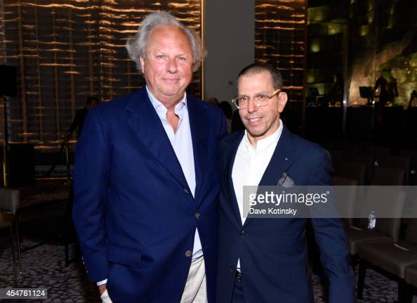 Graydon Carter attends The Daily Front Row Second Annual Fashion Media Awards at Park Hyatt New York on September 5 2014 in New York City