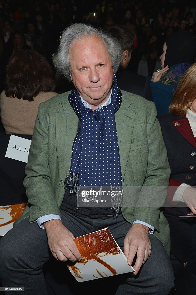 Graydon Carter attends the Diane Von Furstenberg Fall 2013 fashion show during Mercedes-Benz Fashion at The Theatre at Lincoln Center on February 10, 2013 in New York City.