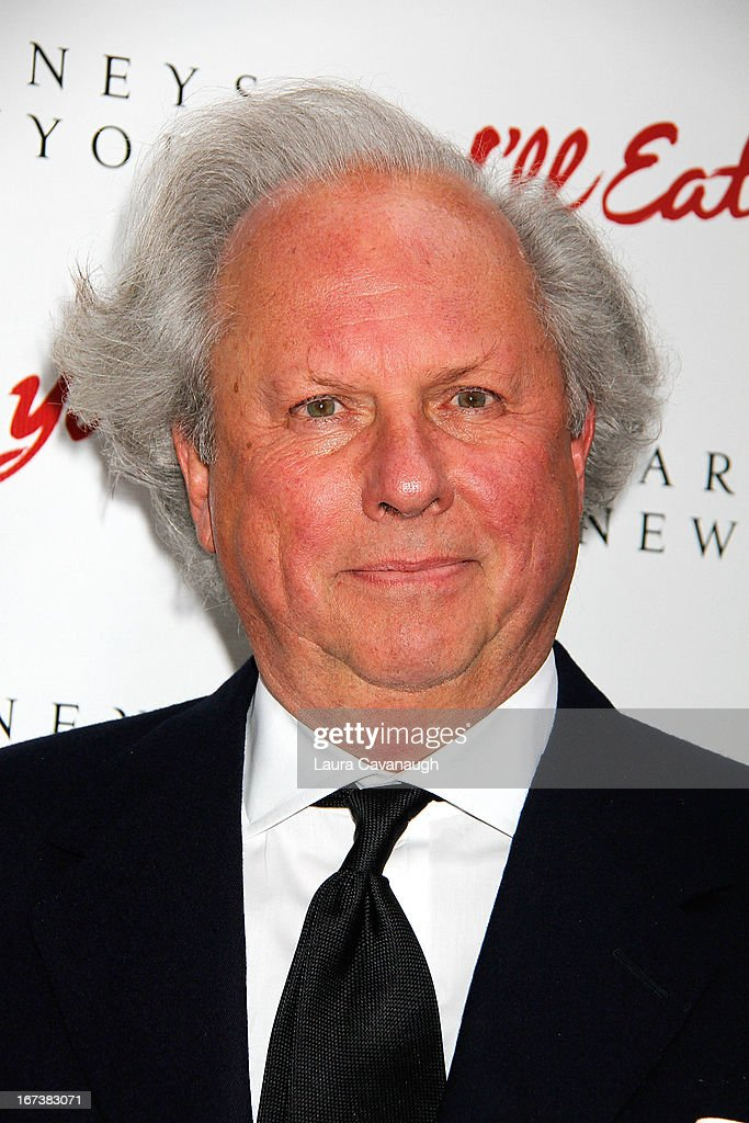 Graydon Carter attends the 'I'll Eat You Last: A Chat With Sue Mengers' Broadway opening night on April 24, 2013 in New York City.