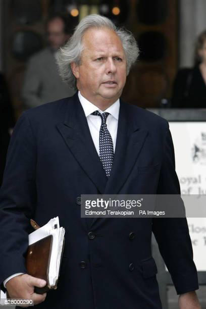 Graydon Carter Editor of Vanity Fair leaves the High Court Roman Polanski sued for libel today over a claim that he 'went on the pull' after his...