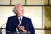 Graydon Carter speaks at The Daily Front Row Second Annual Fashion Media Awards at Park Hyatt New York on September 5 2014 in New York City