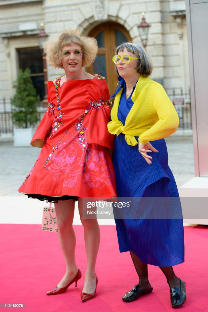 <a gi-track='captionPersonalityLinkClicked' href=/galleries/search?phrase=Grayson+Perry&family=editorial&specificpeople=208176 ng-click='$event.stopPropagation()'>Grayson Perry</a> and Philippa Perry attend the private VIP view of Royal Academy Summer Exhibition 2012 at Royal Academy of Arts on May 30, 2012 in London, England.