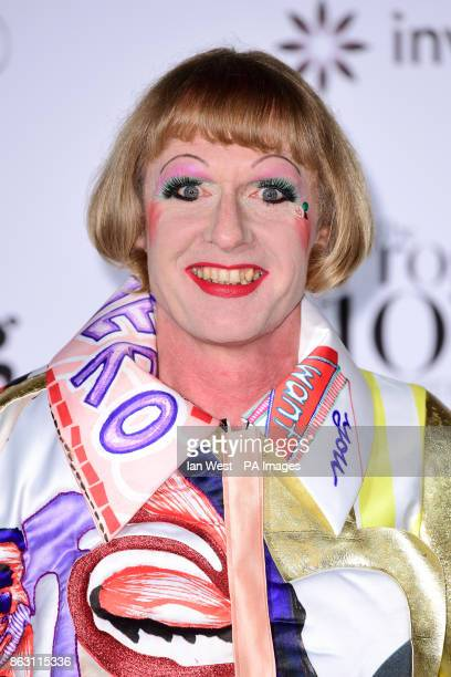 Grayson Perry at the London Evening Standard's annual Progress 1000 in partnership with Citi and sponsored by Invisalign UK held in London PRESS...