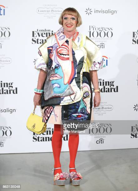 Grayson Perry attends London Evening Standard's Progress 1000 London's Most Influential People event at Tate Modern on October 19 2017 in London...