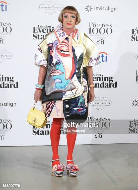 Grayson Perry attends London Evening Standard's Progress 1000 London's Most Influential People event at on October 19 2017 in London England