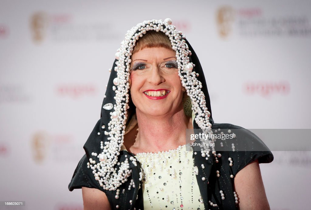 <a gi-track='captionPersonalityLinkClicked' href=/galleries/search?phrase=Grayson+Perry&family=editorial&specificpeople=208176 ng-click='$event.stopPropagation()'>Grayson Perry</a> attends the Arqiva British Academy Television Awards 2013 at the Royal Festival Hall on May 12, 2013 in London, England.