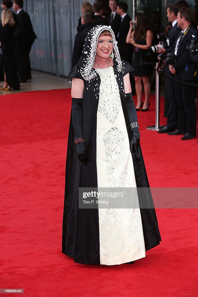 Grayson Perry attends the Arqiva British Academy Television Awards 2013 at the Royal Festival Hall on May 12, 2013 in London, England.