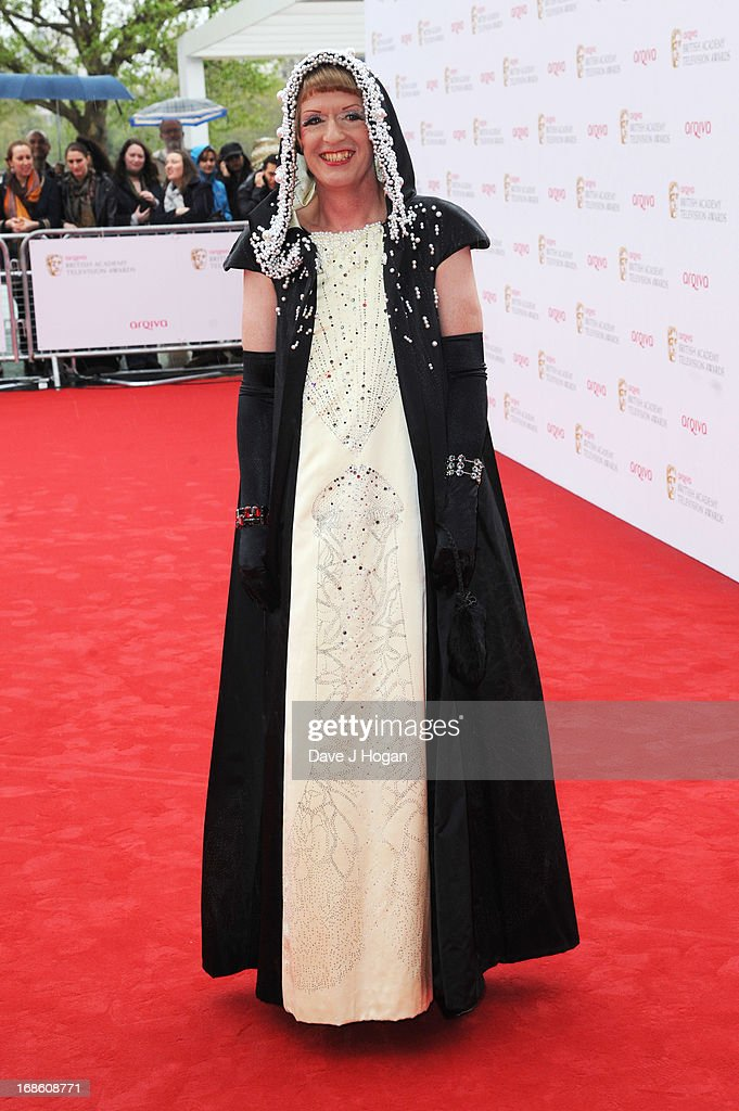 Grayson Perry attends the BAFTA TV Awards 2013 at The Royal Festival Hall on May 12, 2013 in London, England.