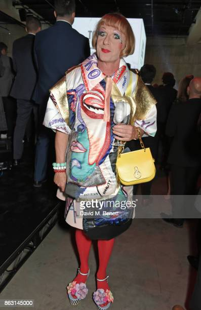 Grayson Perry attends The London Evening Standard's Progress 1000 London's Most Influential People in partnership with Citi on October 19 2017 in...