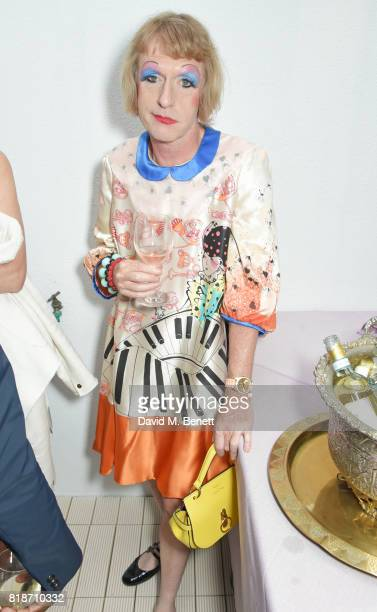 Grayson Perry attends the Mayor of London's Summer Culture Reception on July 18 2017 in London England
