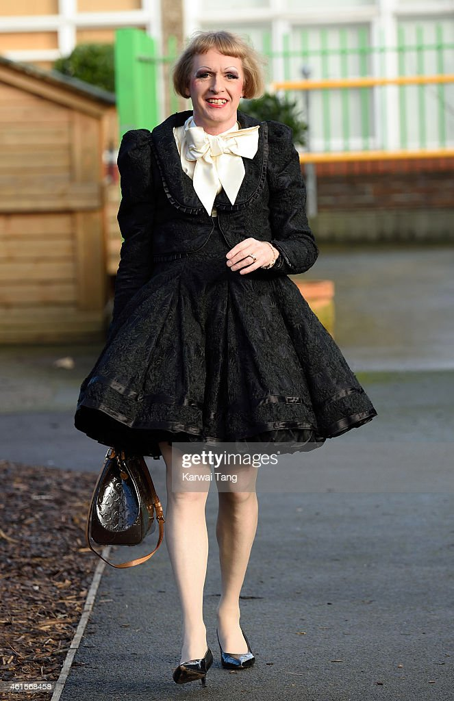 Grayson Perry attends the official naming of the Clore Art Room at Barlby Primary School on January 15 2015 in London England
