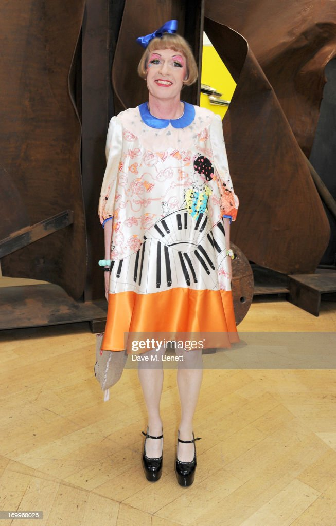 Grayson Perry attends the preview party for The Royal Academy Of Arts Summer Exhibition 2013 at Royal Academy of Arts on June 5 2013 in London England