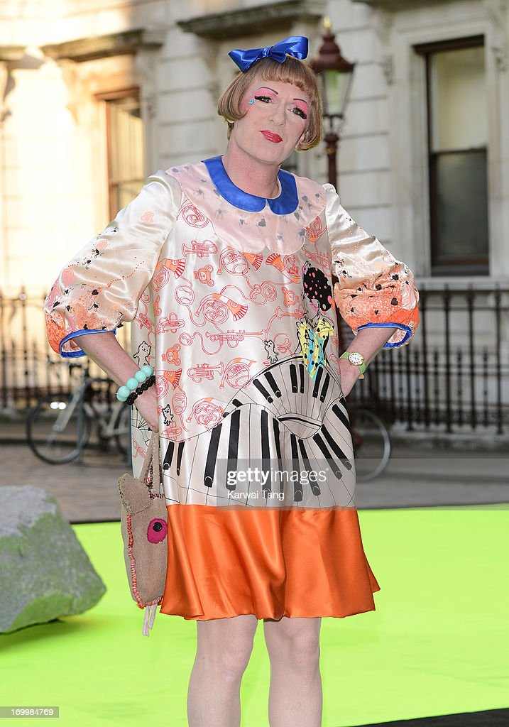 Grayson Perry attends the preview party for The Royal Academy Of Arts Summer Exhibition 2013 at Royal Academy of Arts on June 5, 2013 in London, England.