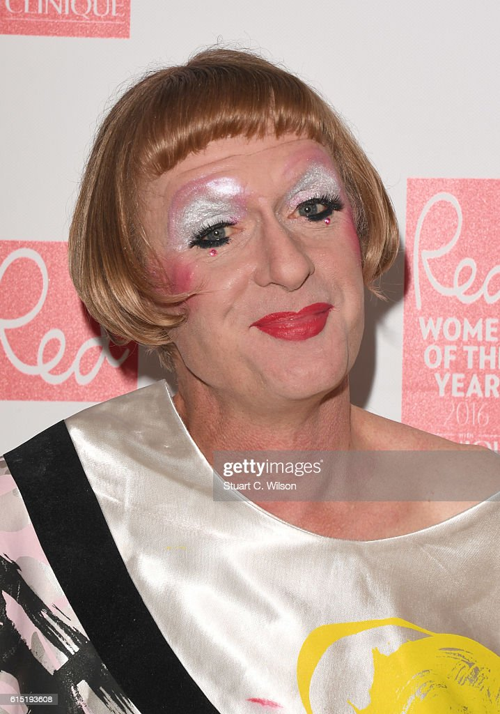 Grayson Perry attends the Red Women of the year awards at The Skylon on October 17, 2016 in London, England.
