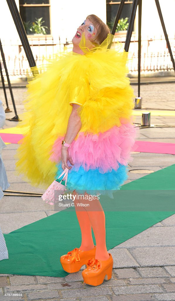 Grayson Perry attends the Royal Academy of Arts Summer Exhibition on June 3 2015 in London England