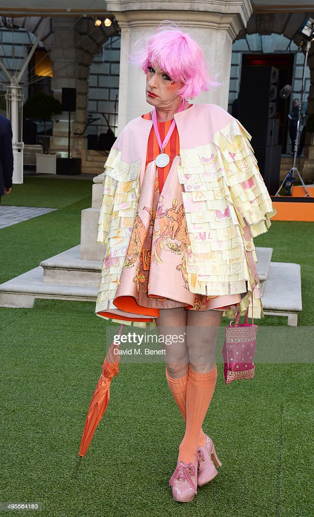 Grayson Perry attends the Royal Academy Summer Exhibition preview party at the Royal Academy of Arts on June 4 2014 in London England
