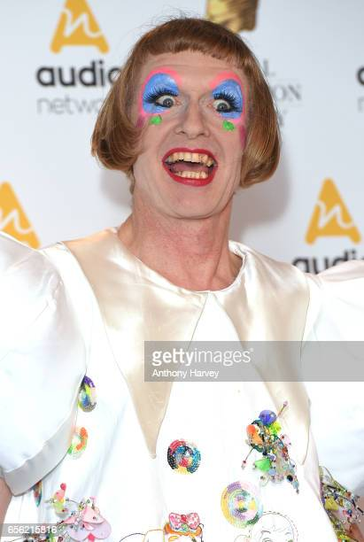 Grayson Perry attends the Royal Television Society Programme Awards on March 21 2017 in London United Kingdom