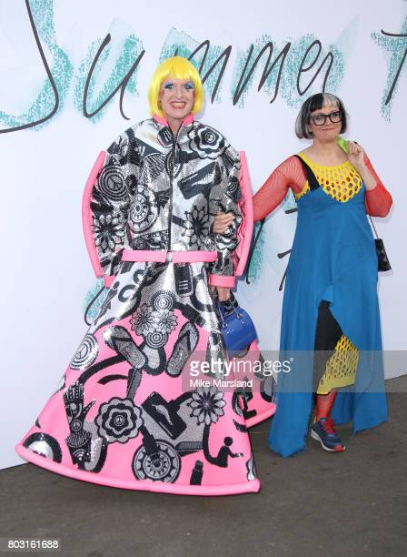 Grayson Perry attends The Serpentine Galleries Summer Party at The Serpentine Gallery on June 28 2017 in London England