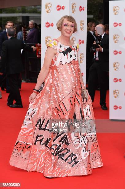 Grayson Perry attends the Virgin TV BAFTA Television Awards at The Royal Festival Hall on May 14 2017 in London England