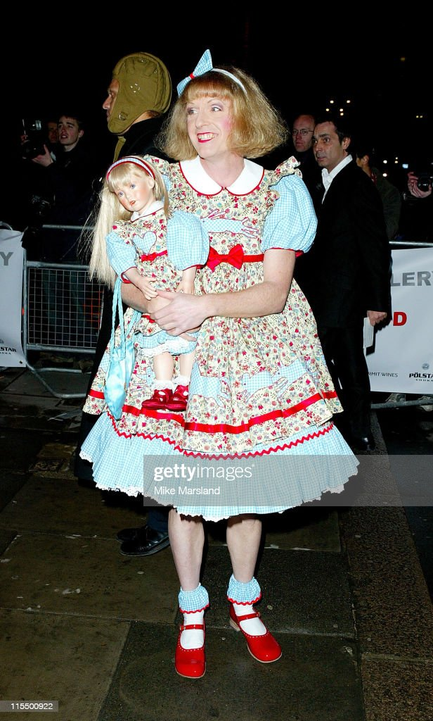 Grayson Perry during 1st Anniversary Saatchi Gallery Arrivals at The Saatchi Gallery in London United Kingdom