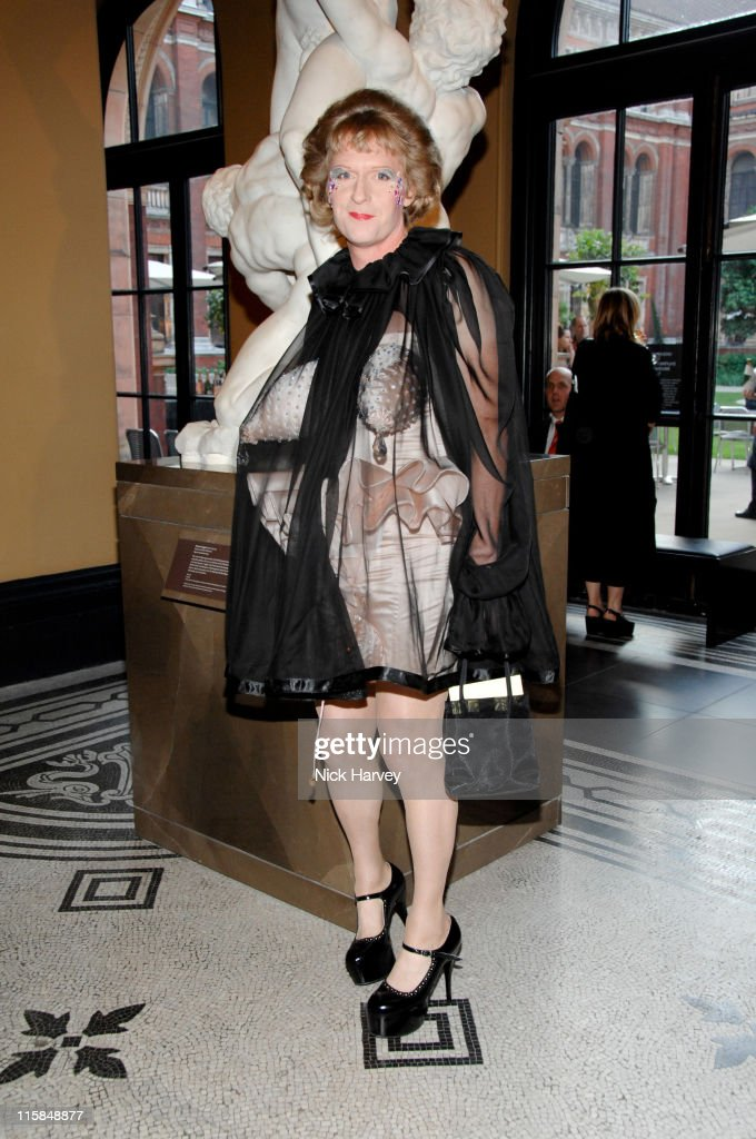 Grayson Perry during Victoria and Albert Museum's 150th Anniversary Party Inside at Victoria and Albert Museum in London Great Britain